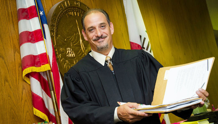 San Bernardino County Superior Court Commissioner Ronald J. Gilbert